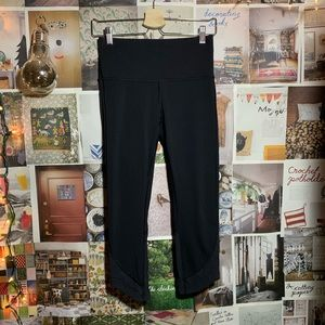 LULULEMON   black ready set go crop leggings
